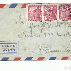 Sellos: CIRCULADA 1950 DE LALIN PONTEVEDRA A AVELLANEDA BUENOS AIRES ARGENTINA. Lote 218102408