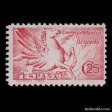 Sellos: 1939.PEGASO. 25C.CARMÍN.MNH.EDIFIL 879. Lote 218168526