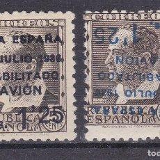 Selos: LL4- GUERRA CIVIL LOCALES CANARIAS EDIFIL 3HI VARIEDAD ** SIN FIJASELLOS. Lote 218218140