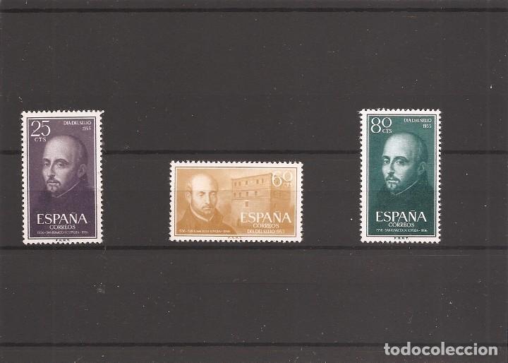 SELLOS DE ESPAÑA AÑO 1955 SAN IGNACIO DE LOYOLA SELLOS NUEVOS** (Sellos - España - Estado Español - De 1.936 a 1.949 - Nuevos)