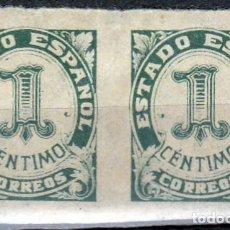 Sellos: 1940 - CIFRAS Y CID - EDIFIL 914 - BLOQUE DE 2. Lote 218489847