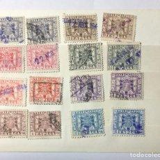 Sellos: LOTE SELLOS TELÉGRAFOS , 1949 , 16 SELLOS , 8 VALORES. Lote 218518526