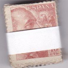 Sellos: ST(CJTª)- FRANCO 10 CTS DG EDIFIL 920 . PASTILLA 100 SELLOS .. Lote 218901530
