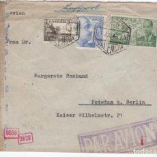 Sellos: 1943 SOBRE DIRIGIDO A ALEMANIA DESDE VALENCIA. Lote 219142793