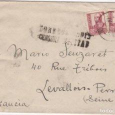 Sellos: 1949 SOBRE DIRIGIDO A FRANCIA DESDE CADIZ. Lote 219143240