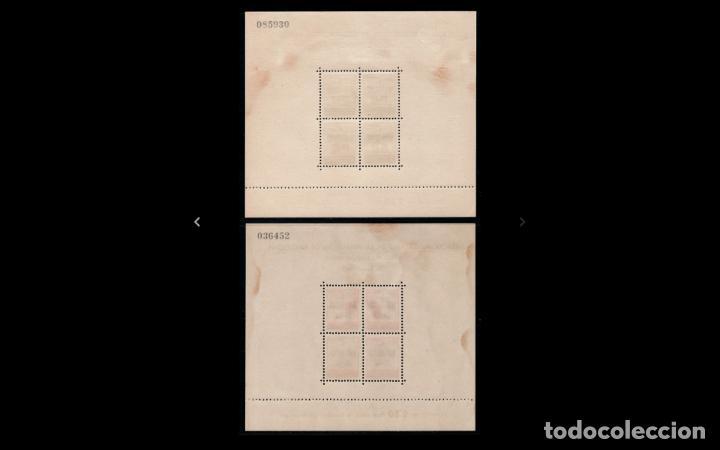 Sellos: ESPAÑA - 1942 - BARCELONA - EDIFIL 40/41 - SERIE COMPLETA - MNH** - NUEVAS - VALOR CATALOGO 145€. - Foto 2 - 219225943