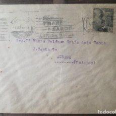Sellos: SOBRE CIRCULADO 1941.. Lote 219697877