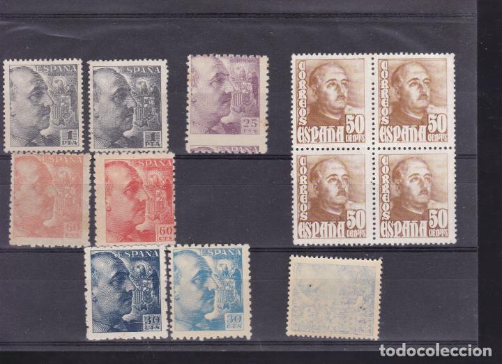 JJ19- VARIEDADES FRANCO (Sellos - España - Estado Español - De 1.936 a 1.949 - Nuevos)