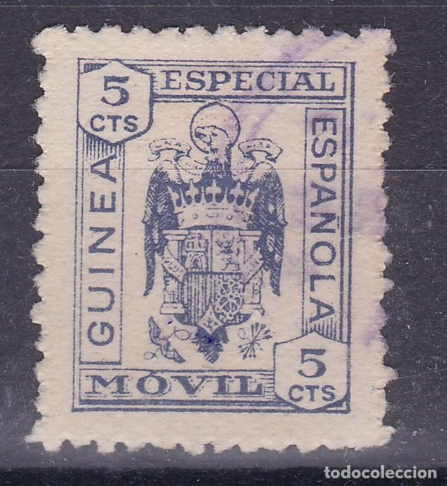 LL1- FISCALES COLONIAS. ESPECIAL MÓVIL 5 CTS GUINEA ESPAÑOLA (Sellos - España - Estado Español - De 1.936 a 1.949 - Nuevos)