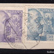 Sellos: CL12-32- FRANCO MATASELLOS AMBULANTE EXPRESO CORUÑA - MADRID. Lote 221268830