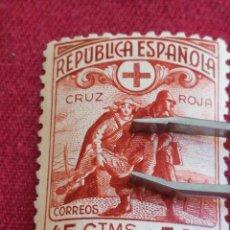 Sellos: SELLO ESPAÑA 45 CTMS + 5 PST CRUZ ROJA CON GOMA. Lote 221441576