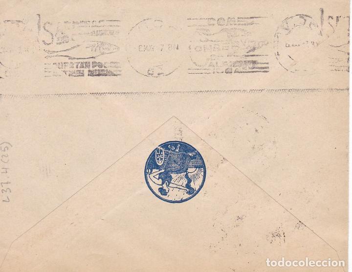 Sellos: HP4-1- Guerra Civil . Carya Publicitaria Droguería Central LUGO 1937. Local y Censura - Foto 2 - 221784310
