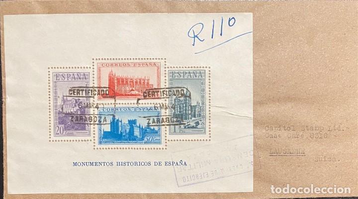 ESPAÑA, CARTA CIRCULADA EN EL AÑO 1940 (Sellos - España - Estado Español - De 1.936 a 1.949 - Cartas)