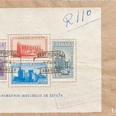 Sellos: ESPAÑA, CARTA CIRCULADA EN EL AÑO 1940. Lote 221999986
