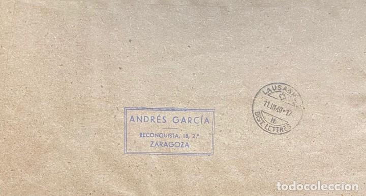 Sellos: ESPAÑA, CARTA CIRCULADA EN EL AÑO 1940 - Foto 2 - 221999986