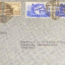 Sellos: ESTADO ESPAÑOL, CARTA CIRCULADA EN EL AÑO 1949. Lote 222013733