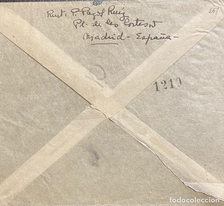 Sellos: ESTADO ESPAÑOL, CARTA CIRCULADA EN EL AÑO 1946 - Foto 2 - 222015068