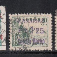 Sellos: CANARIAS, 1938 EDIFIL Nº 37 / 39. Lote 222280041