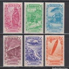 Sellos: BENEFICENCIA, 1938 EDIFIL Nº 21 / 26 /**/, HISTORIA DEL CORREO. SIN FIJASELLOS.. Lote 222352726
