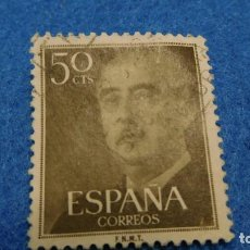 Sellos: SELLO USADO DE FRANCO DE 50 CENTS.. Lote 222575383