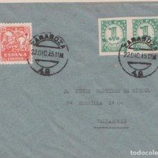 Sellos: PRO TUBERCULOSOS 1945 - PRIMER DÍA. Lote 222826686