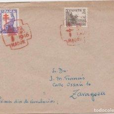 Sellos: PRO TUBERCULOSOS 1946 - PRIMER DÍA. Lote 222826833