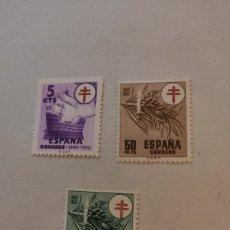 Sellos: SELLOS ESPAÑA (1950) MNH NUEVO SPAIN - EDIFIL 1084/87 PRO TUBERCULOSOS. Lote 223395298