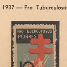 Sellos: EDIFIL 840 MNH PRO TUBERCULOSAS SELLOS ESPAÑA 1937 GOMA ORIGINAL. Lote 223691963