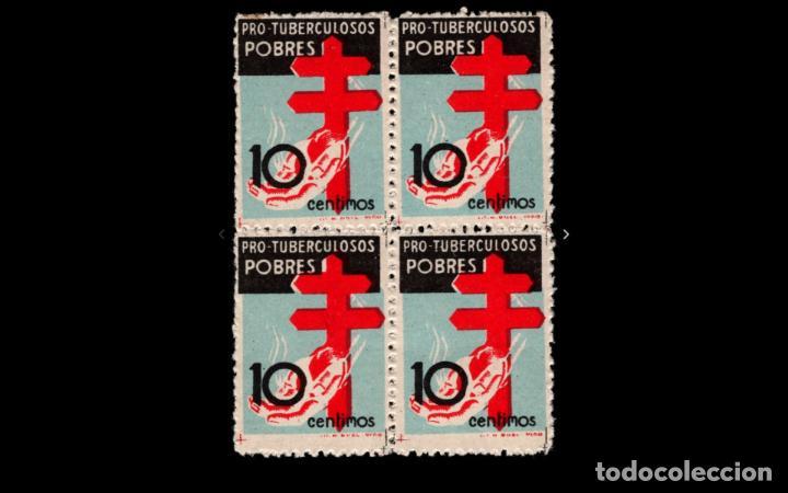 ESPAÑA - 1937 - ESTADO ESPAÑOL - EDIFIL 840 - BLOQUE DE 4 - MNH** - NUEVOS - VALOR CATALOGO 165€ (Sellos - España - Estado Español - De 1.936 a 1.949 - Nuevos)