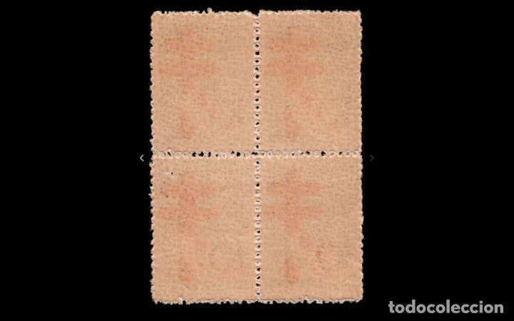 Sellos: ESPAÑA - 1937 - ESTADO ESPAÑOL - EDIFIL 840 - BLOQUE DE 4 - MNH** - NUEVOS - VALOR CATALOGO 165€ - Foto 2 - 223942743