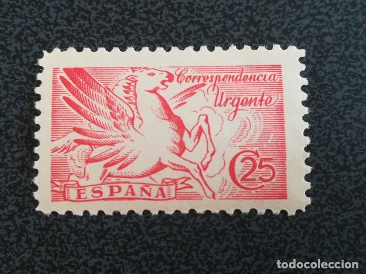 ANTIGUO SELLO ESPAÑA 25 CENT URGENTE, CON GOMA (Sellos - España - Estado Español - De 1.936 a 1.949 - Nuevos)