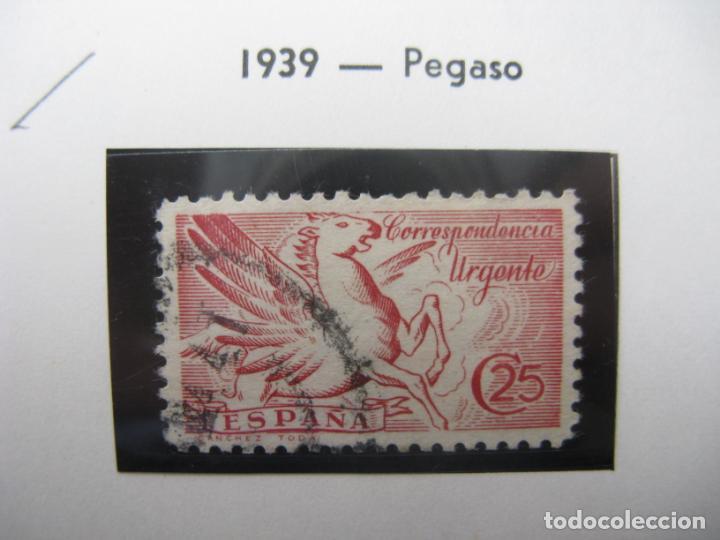 1939, PEGADO, EDIFIL 879 (Sellos - España - Estado Español - De 1.936 a 1.949 - Usados)