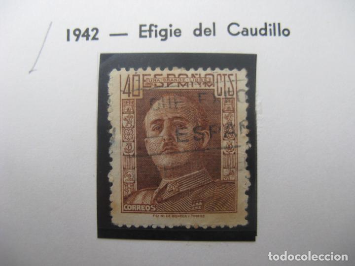 1942, GENERAL FRANCO, EDIFIL 953 (Sellos - España - Estado Español - De 1.936 a 1.949 - Usados)