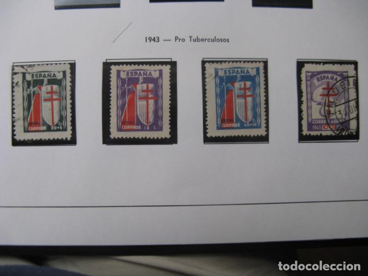 1943, PRO TUBERCULOSOS, EDIFIL 970/73 (Sellos - España - Estado Español - De 1.936 a 1.949 - Usados)