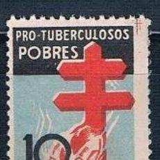 Sellos: ESPAÑA 1937 PRO TUBERCULOSOS MNH** EDIFIL 840. Lote 230430030
