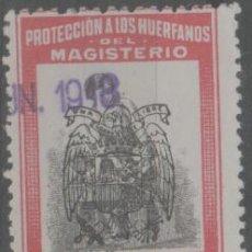 Sellos: LOTE C-SELLO VIÑETA MAGISTERIO. Lote 243850375