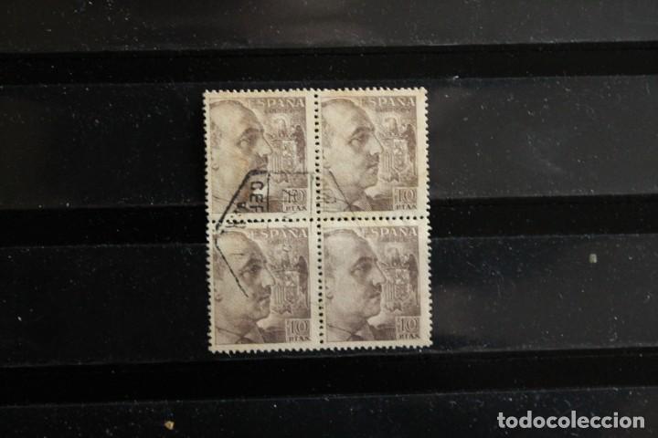 EDIFIL 934 EN BLOQUE DE CUATRO USADOS (Sellos - España - Estado Español - De 1.936 a 1.949 - Usados)
