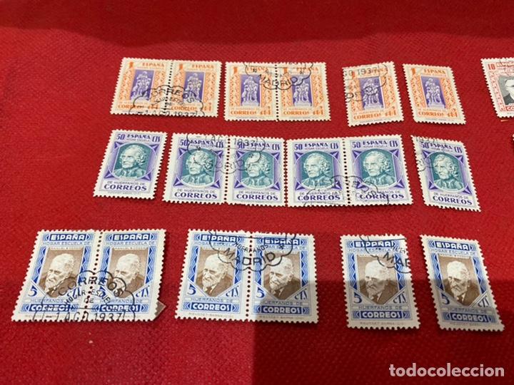 Sellos: Lote de 30 sellos españa 1937. Ver fotos - Foto 2 - 234043090