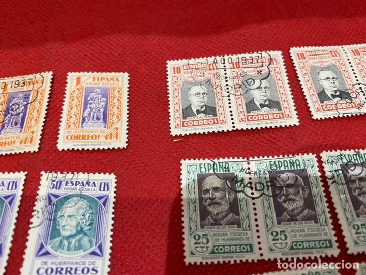 Sellos: Lote de 30 sellos españa 1937. Ver fotos - Foto 8 - 234043090