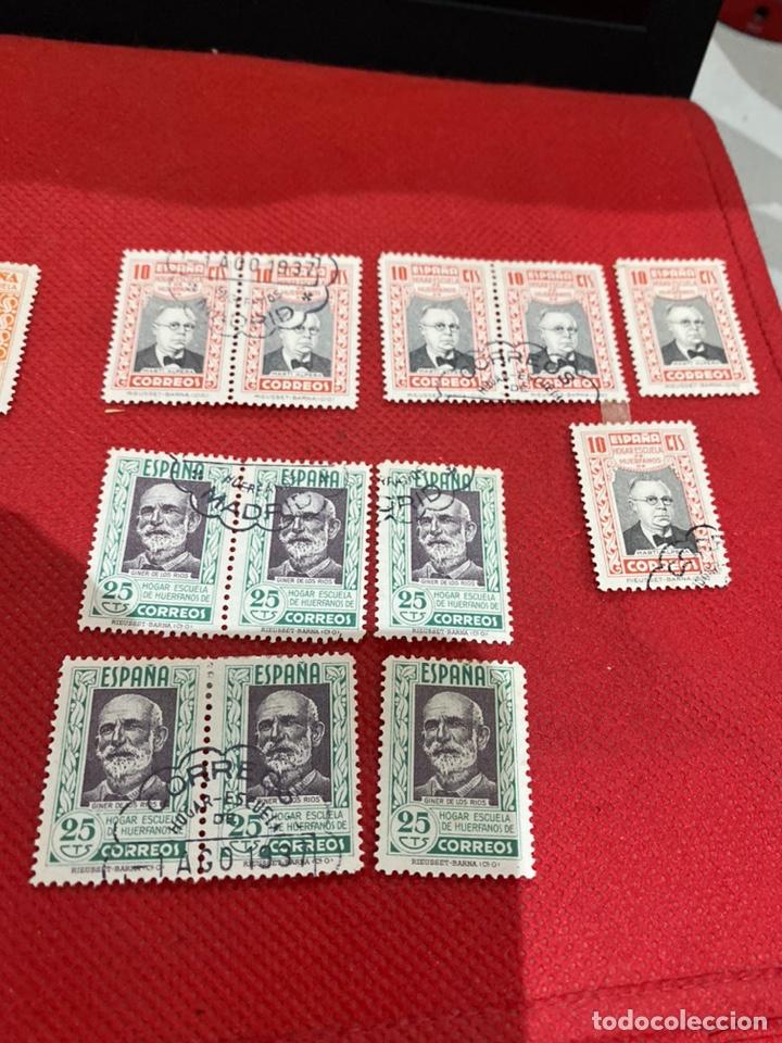 Sellos: Lote de 30 sellos españa 1937. Ver fotos - Foto 9 - 234043090