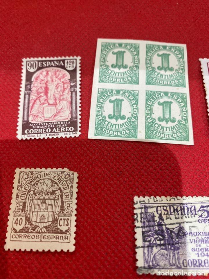 Sellos: Lote de 14 sellos españa 1946-1948 . Ver fotos - Foto 2 - 234044265