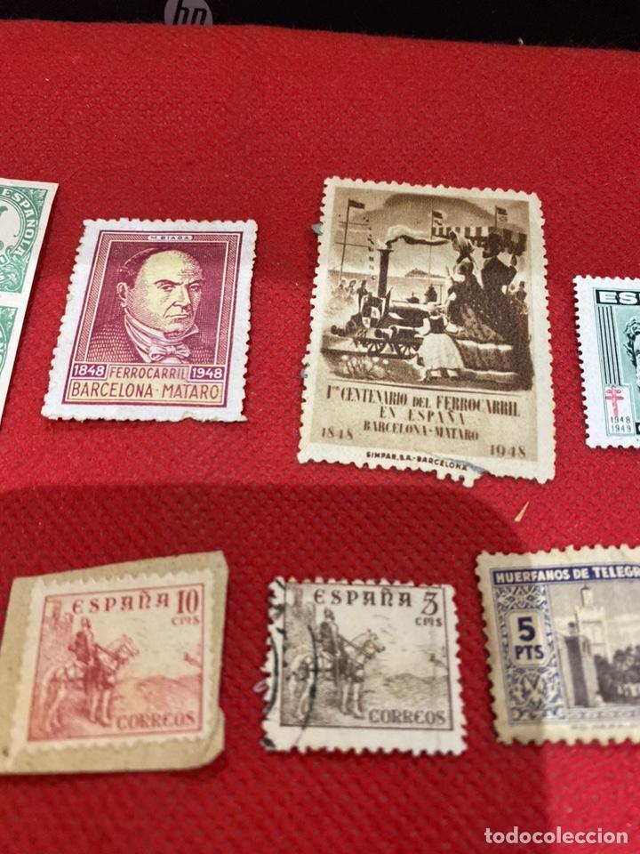 Sellos: Lote de 14 sellos españa 1946-1948 . Ver fotos - Foto 3 - 234044265