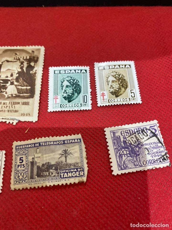 Sellos: Lote de 14 sellos españa 1946-1948 . Ver fotos - Foto 4 - 234044265