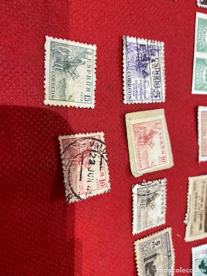 Sellos: Lote de 14 sellos españa 1946-1948 . Ver fotos - Foto 5 - 234044265