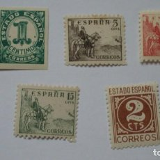 Sellos: ESPAÑA 1970 EDIFIL 914/18 NUEVOS PERFECTOS. Lote 234738455