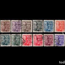 Sellos: ESPAÑA - 1939 - ESTADO ESPAÑOL - EDIFIL 867/878 - SERIE COMPLETA - SANCHEZ TODA- VALOR CATALOGO 97€.. Lote 234870605