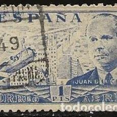 Sellos: ESPAÑA 1941 (944) JUAN DE LA CIERVA (USADO). Lote 235570595