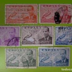 Sellos: ESPAÑA. AÑOS 1939, EDIFIL 880/86 US. ''JUAN DE LA CIERVA-AUTOGIRO''./ (VER FOTO).. Lote 235604960
