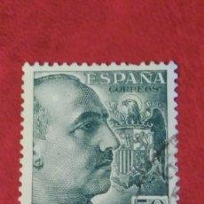 Sellos: SELLO ESPAÑA 1053. EDIFIL. CID Y GRAL.FRANCO. 1948-55. USADO.. Lote 235862455