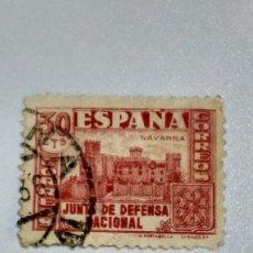 Sellos: SELLO ESPAÑA Nº 808. JUNTA DE DEFENSA NACIONAL. 1936-37. USADO.. Lote 235863100